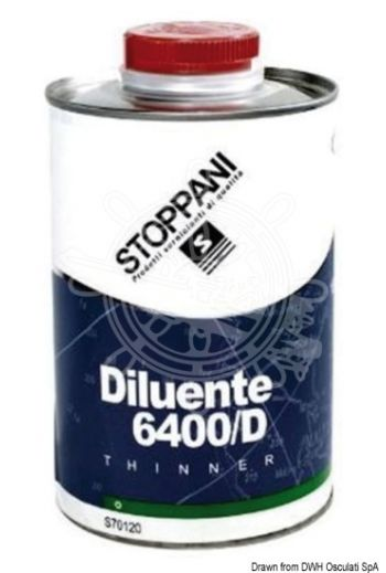 STOPPANI LECHLER thinner (Type: thinner for antifouling, Description: Thinner 6400/D, For: Antifouling, Package: 1 l)