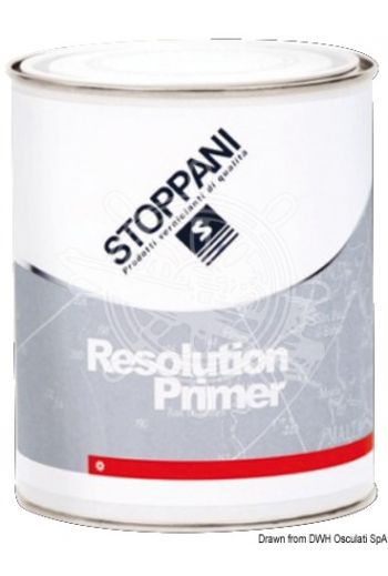 RESOLUTION PRIMER (Package: 0,75 l, Thinner: 6400/D)