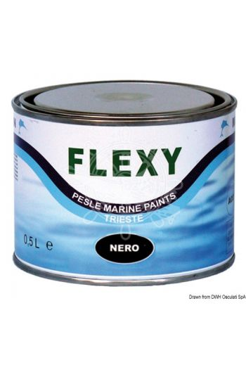 MARLIN Flexy elastic antifouling paint (Description: black, Package: 0,5 l)