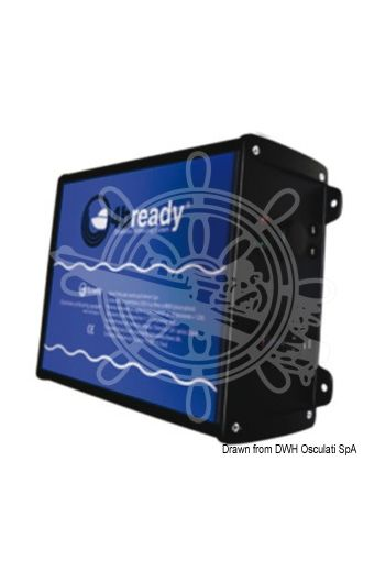 4bready R antifouling ultrasound electronic device (Max consumption: 900 ma 12 V, Cable standard length: 8 m, Transducer voltage: 250 V to 850 V peak to peak, Tra)