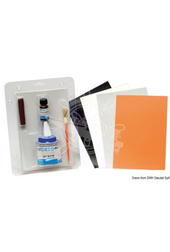 Professional repair kit for inflatables