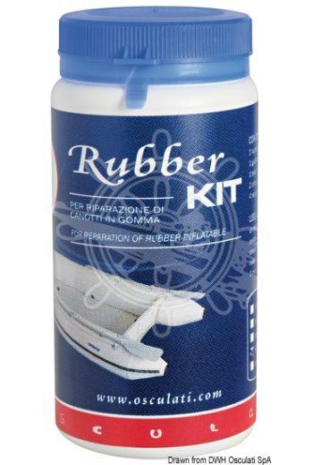 Rubber Kit for repairing neoprene dinghies