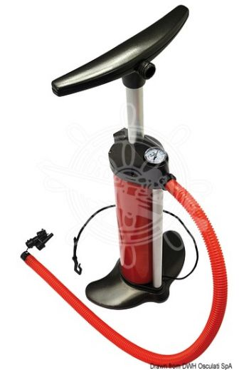 Bravo 110 inflator (Functions: Inflation+deflation, Tank: 2x2.5l, Mx pressure: 1000 mbar (14,5 PSI), Pressure gauge: Yes)