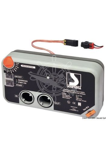"""Turbo Max Kit"" Electric inflator pump for dinghies"
