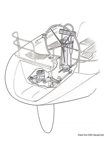 Engine unit with autopilot