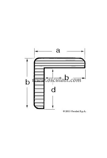 "ARC ""L"" profiles (A mm: 23, B mm: 23, C mm: 18, D mm: 18)"