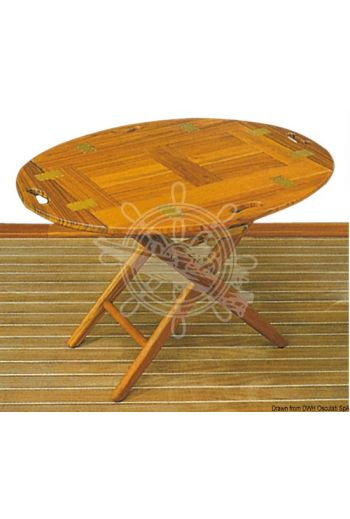 ARC teak removable table (Measures: 80x60x53h)