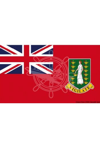 Flag - British Virgin Islands - merchant