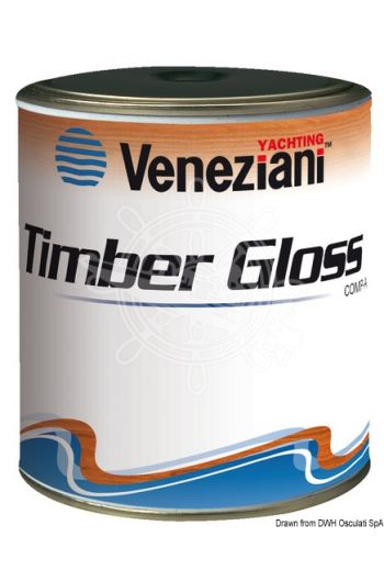 VENEZIANI Timber Gloss flatting (Color: Trasparente, Yield: 11,2 m2/l, Package: 0,75 l)