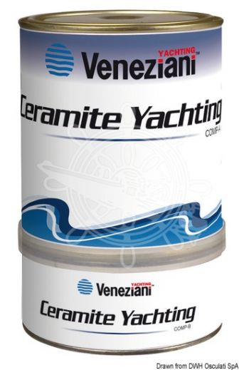 VENEZIANI Ceramite Yachting paint (Colour: White, Yield: 6.7 m2/l, Package: 0.75 l)