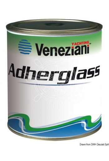VENEZIANI Adherglass primer (Color: pink, Yield: 13 m2/l, Package: 0.75 l)