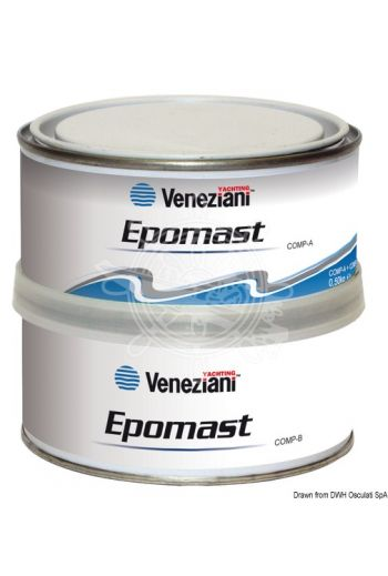 VENEZIANI Epomast filler (Color: Light grey, Package: 0.50 l)