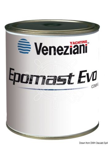 VENEZIANI Epomast Evo filler (Color: Light blue, Package: 1.5 l)
